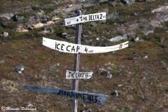 Hiking-Ziele am Eqi-Gletscher