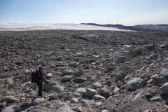 Angekommen am Inlandeis in Grönland: Foto: Dr. Till Pasquay