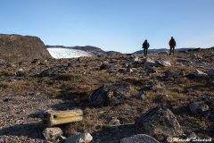Überreste der Polarexpedition en von  Paul-Émile Victor