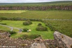Campingplatz Asbyrgi