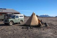 Campingplatz an der Askia