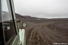 Gut ausgeschilderte Abzweigung in Islands Hochland