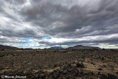 Weite Mondlandschaften in Island