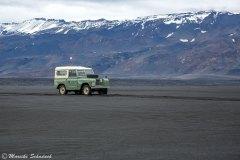 Roadtrip mit Land Rover Serie II