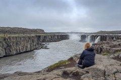 Wasserfall Selfoss. Foto: Dr. Till Pasquay