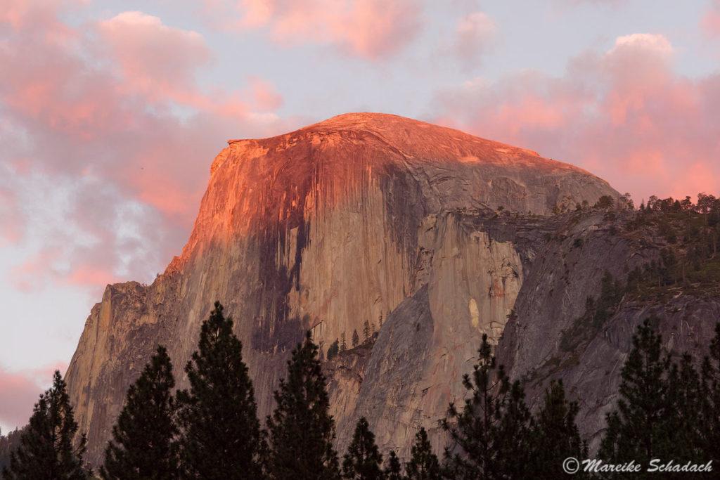 Besteigung des Half Dome im Yosemite Nationalpark