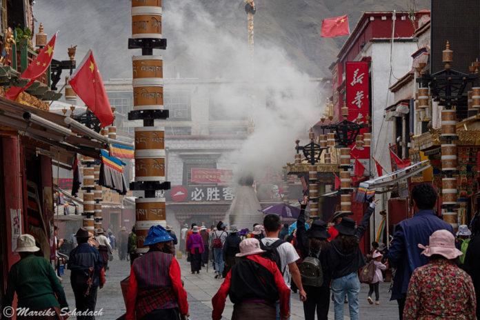 Barkhor in Lhasa – Pilgerweg und Shoppingmeile