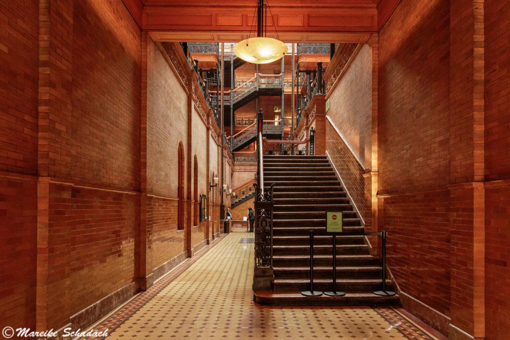 Treppenhaus des Bradbury Building