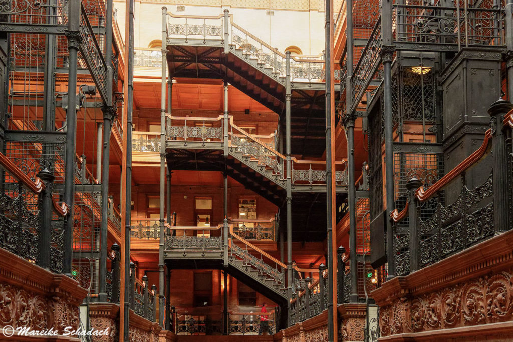 Besuch des Bradbury Building
