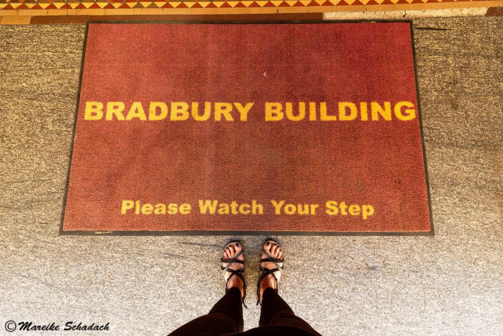 Besuch des Bradbury Building - Fußmatte