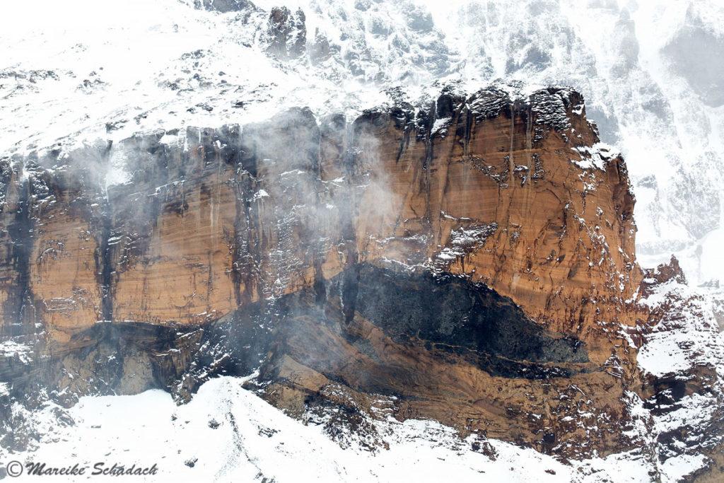 Tafelvulkan von Brown Bluff Antarktis