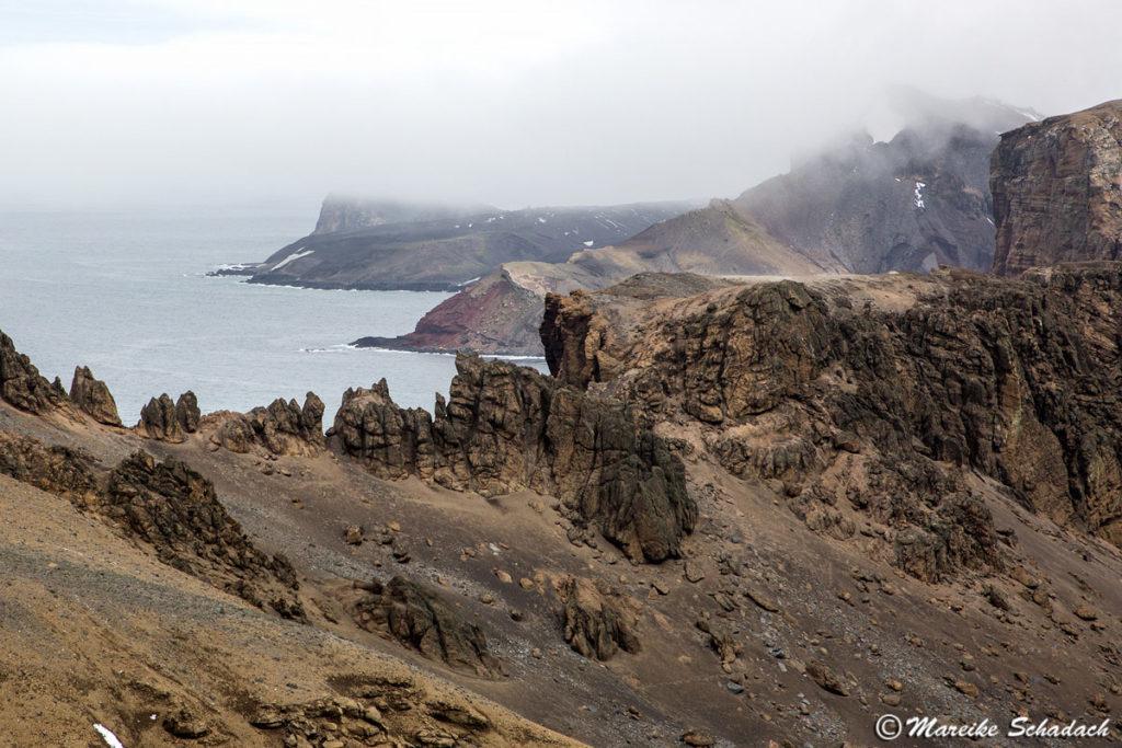 Vulkanlandschaft in Whaler's Bay, Deception Island