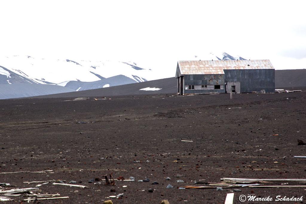 ehemaliger Hanger auf Deception Island