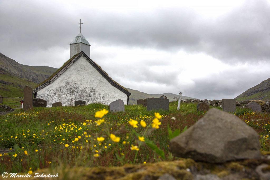 Dorfkirche bei Saksun, Färöer Inseln