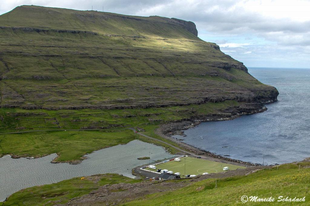 Campingplatz Eiði auf Eysturoy