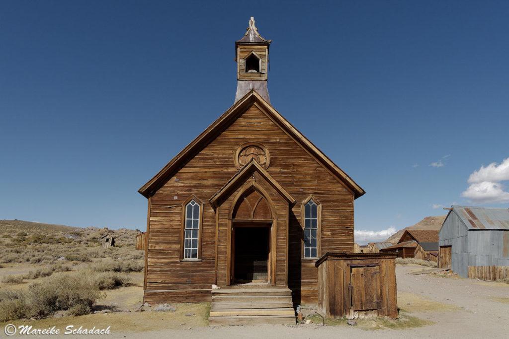 Die letzte Kirche von Bodie - heute ein Lost Place