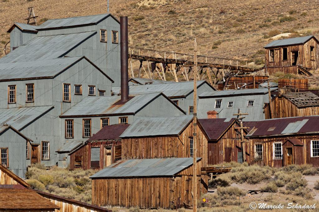 Die große Goldgräbermine - heute ein Top Lost Place in Kalifornien