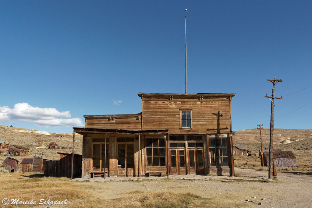 Wheaton & Luhrs Store in Bodie