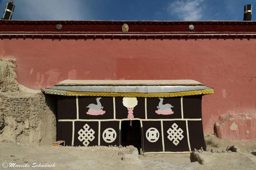 Der Rote Tempel vom Königreich Guge