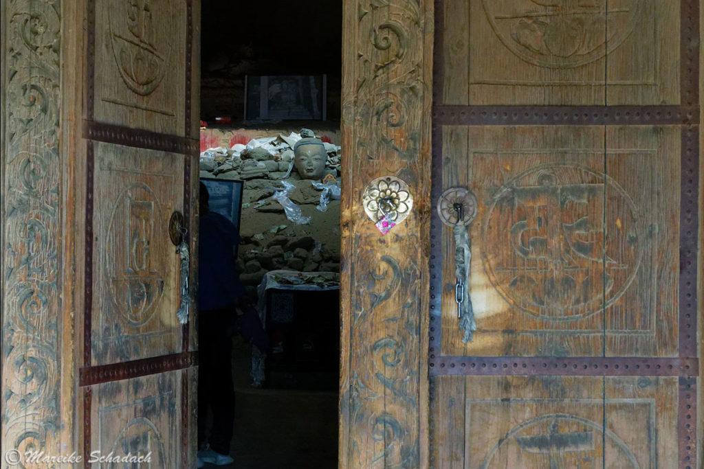 Roter Tempel von Tsaparang im Königreich Guge