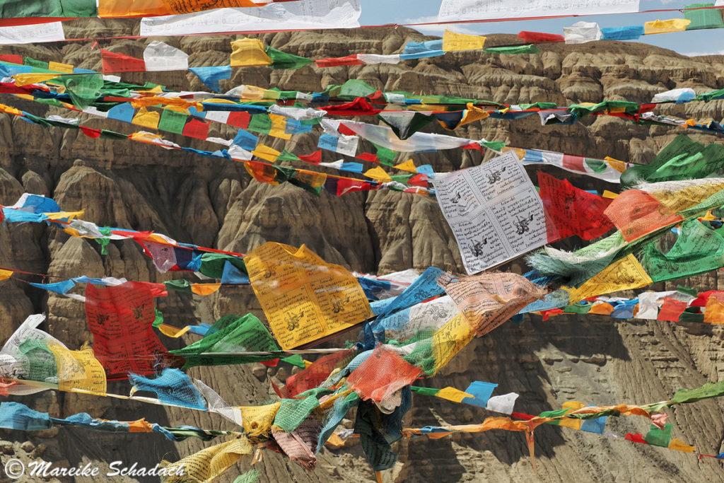 Tibetische Gebetsfahnen - Königreich Guge