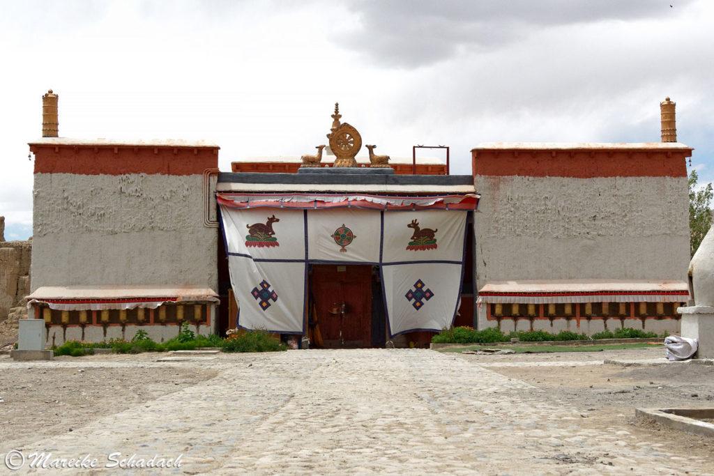 Die Weiße Kapelle vom Kloster Tholing Königreich Guge