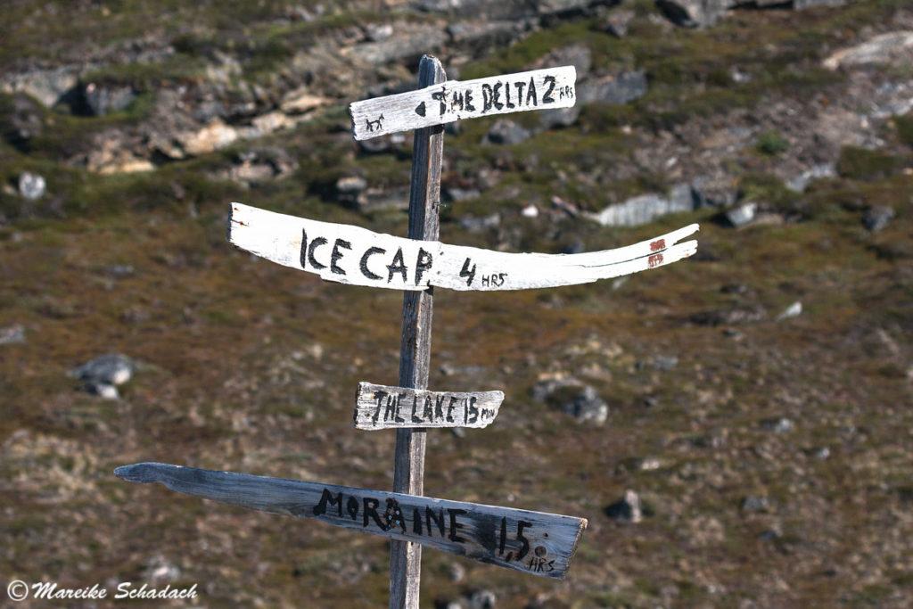 Hiking Tour vom Eqi-Gletscher zum grönländischen Inlandeis auf eigene Faust