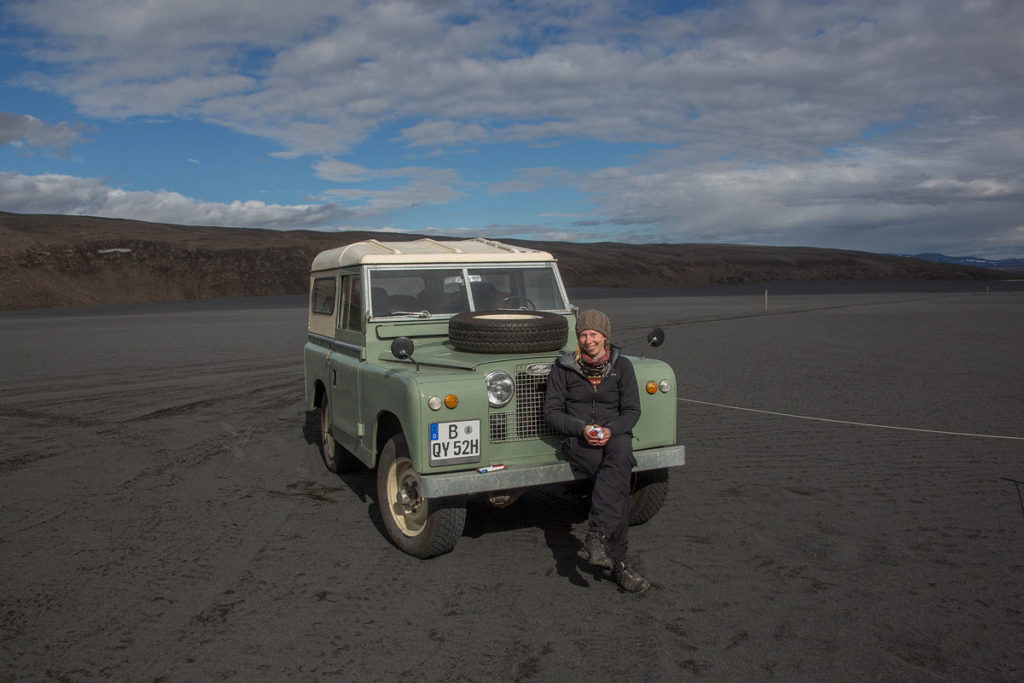 Roadtrip mit Land Rover Serie II in Island