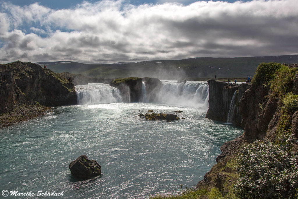 Wasserfall Góðafoss