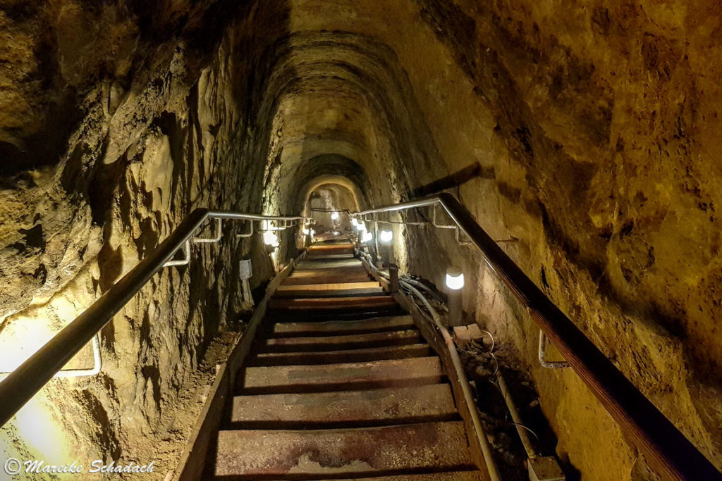 Tunnel zur Sunny Jim's Cave