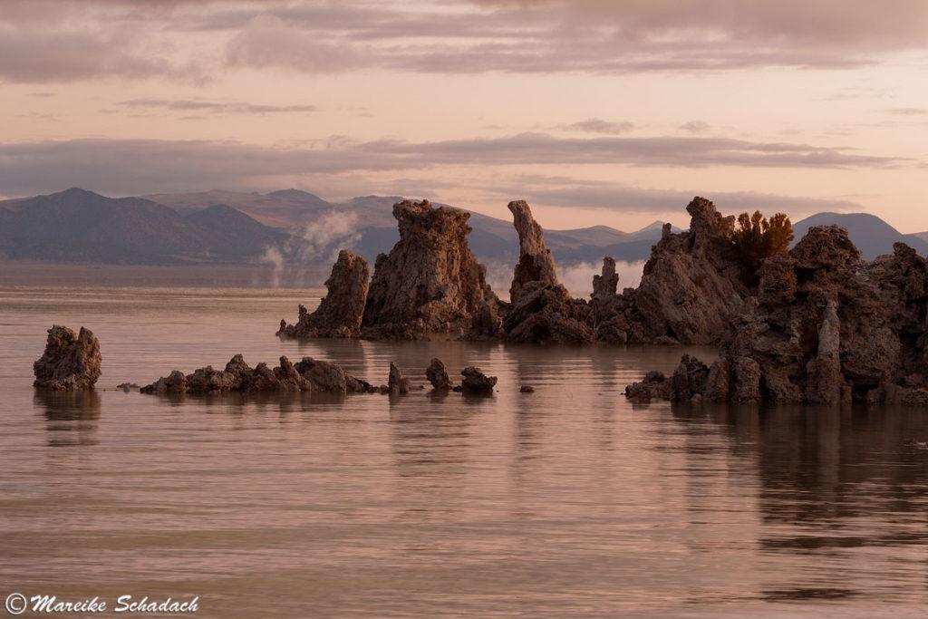 Fototipp - kurz vor Sonnenaufgang am Mono Lake