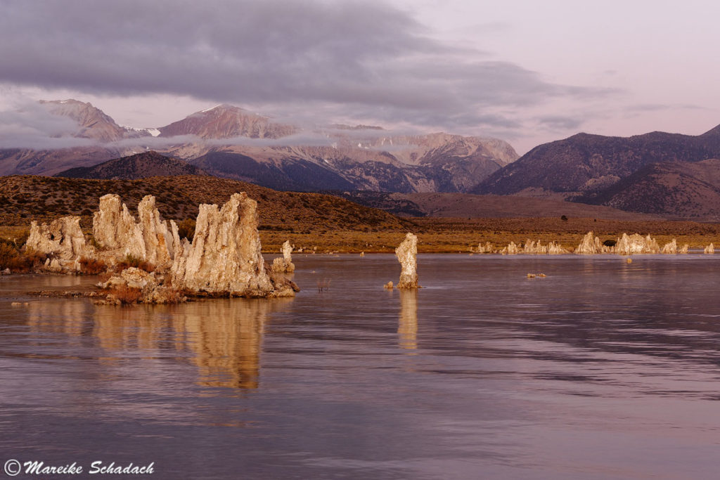 Mono Lake Fototipp und Sierra Nevada