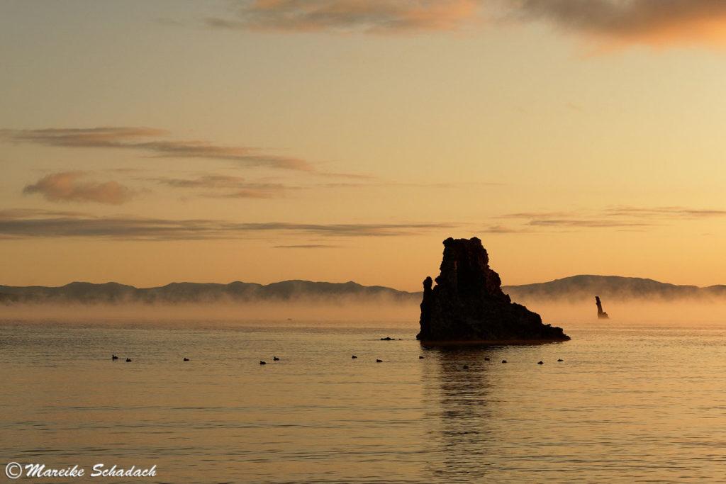 Monolake vor Sonnenaufgang