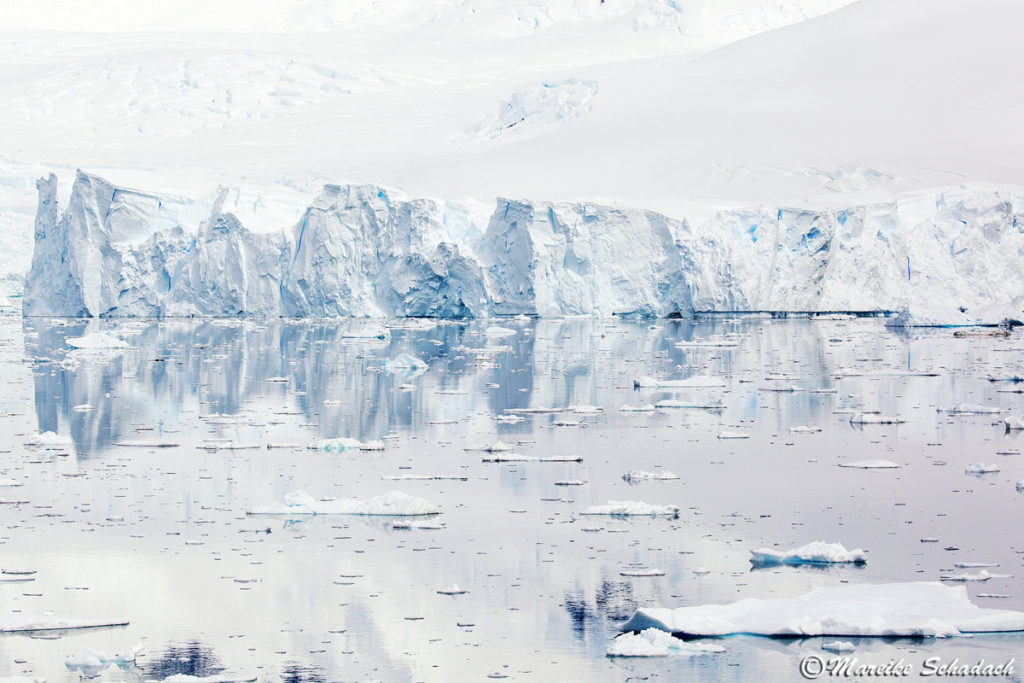 Eisabbruchkante im Neumayerkanal