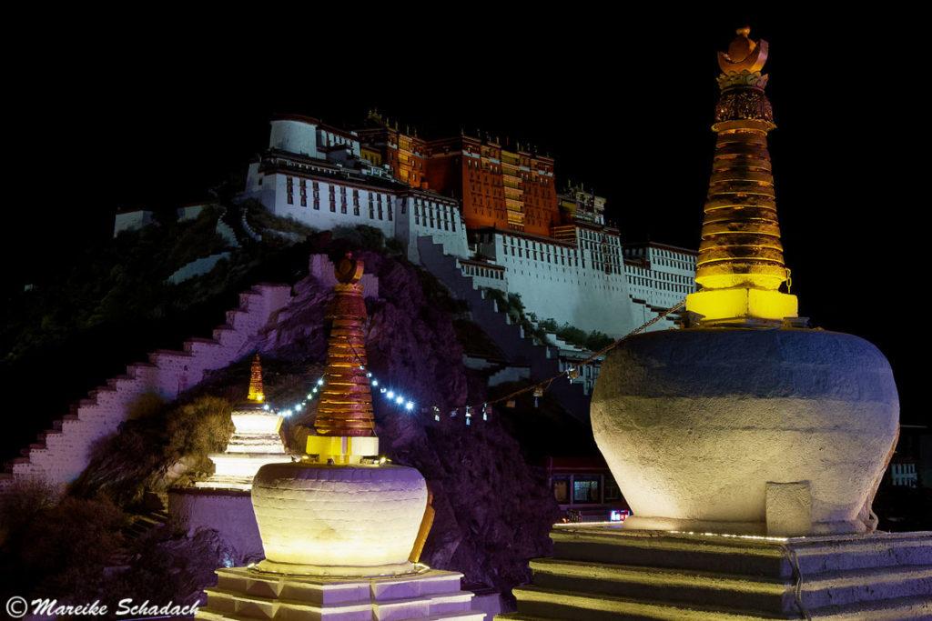 Potala Palast in Lhasa – Fototipps - Aussichtspunkt Jag Pori