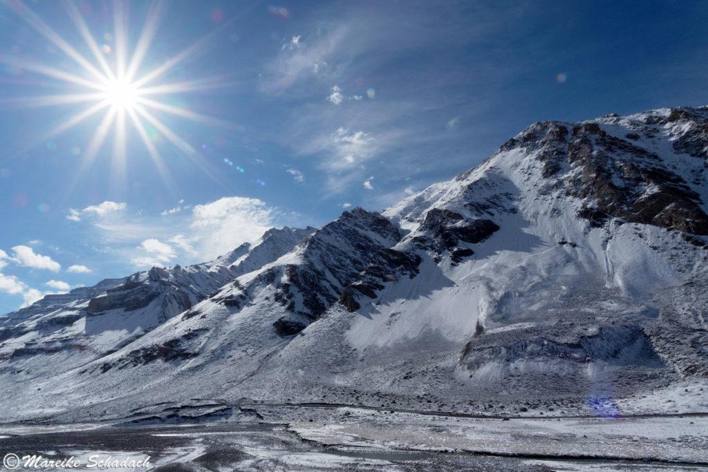 Sonnenbrillen Spenden Tibet
