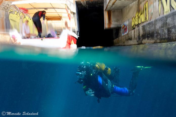 Tauchen im U-Boot-Bunker