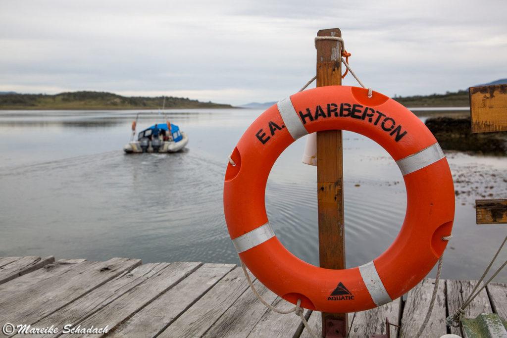 Bootsanleger der Estancia Haberton