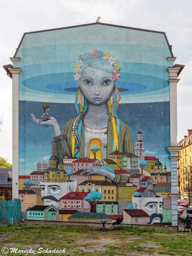 Street Art in Kiew - Revival-von-Alexey-Kislovsky-Julien-Mullan
