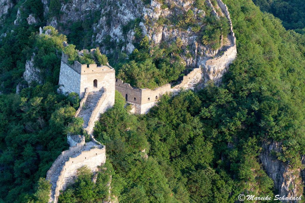 Chinesischen Mauer in Jiankou