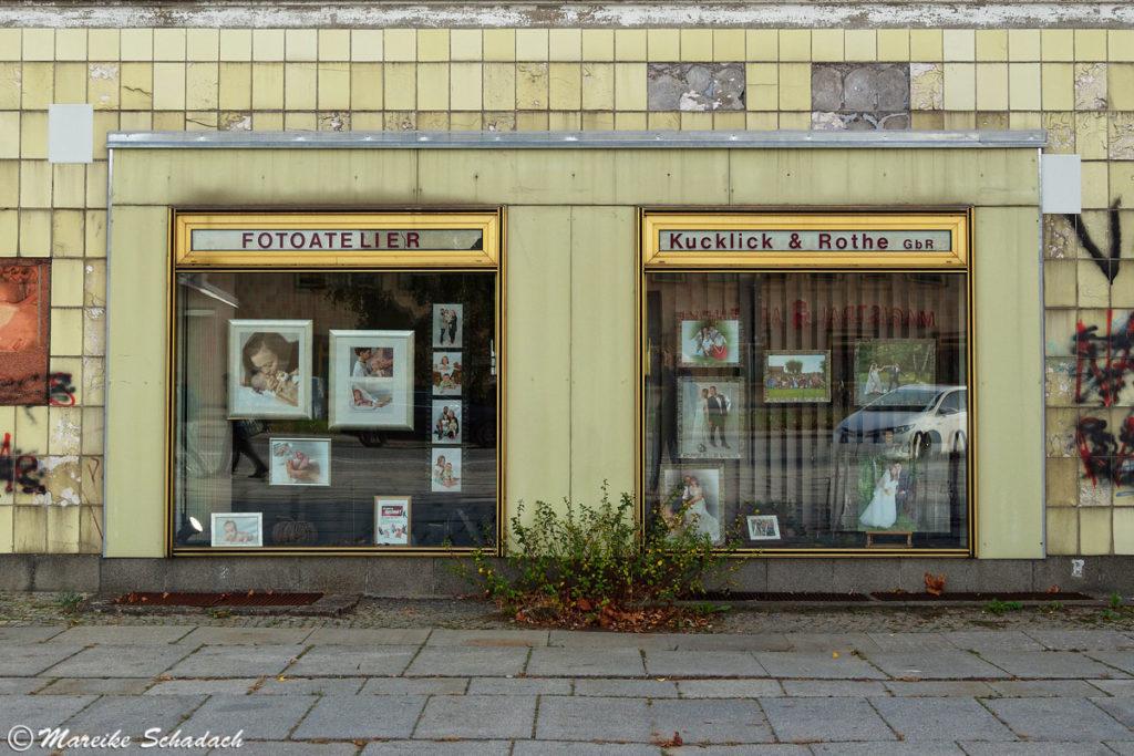 Fotogeschäft in der Lindenallee