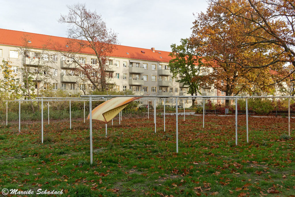 Wohnblocks in Eisenhüttenstadt