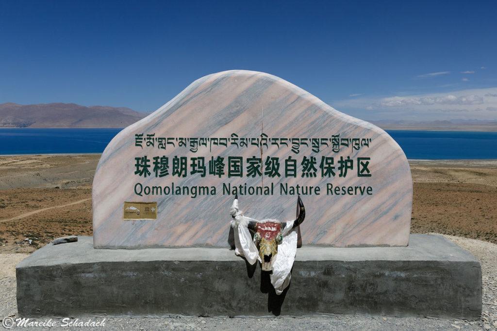 Das Qomolangma National Nature Reserve ist ein bei der UNESCO gelistetes Biospärenreservat.