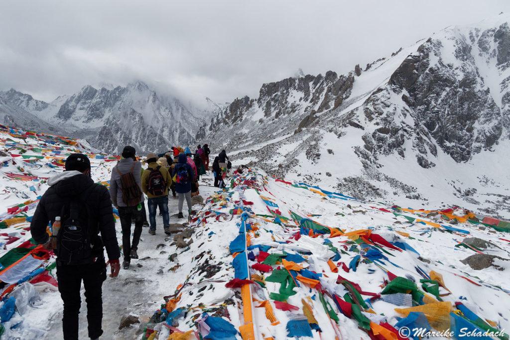 Drölma La Pass beim Trekking um den Kailash