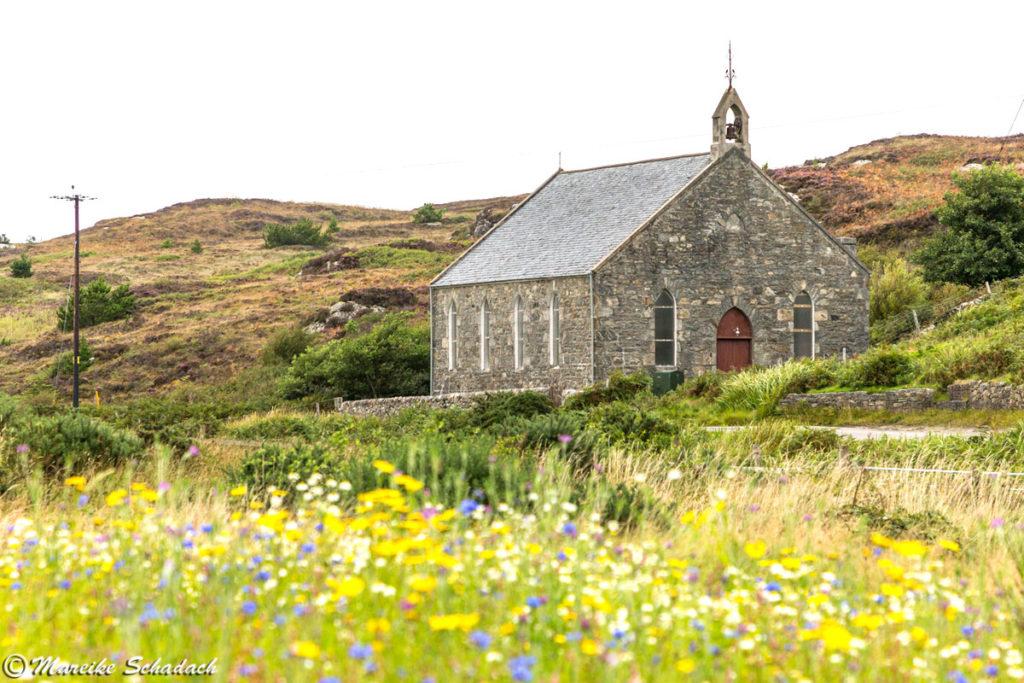 Kirche auf der Isle of Coll