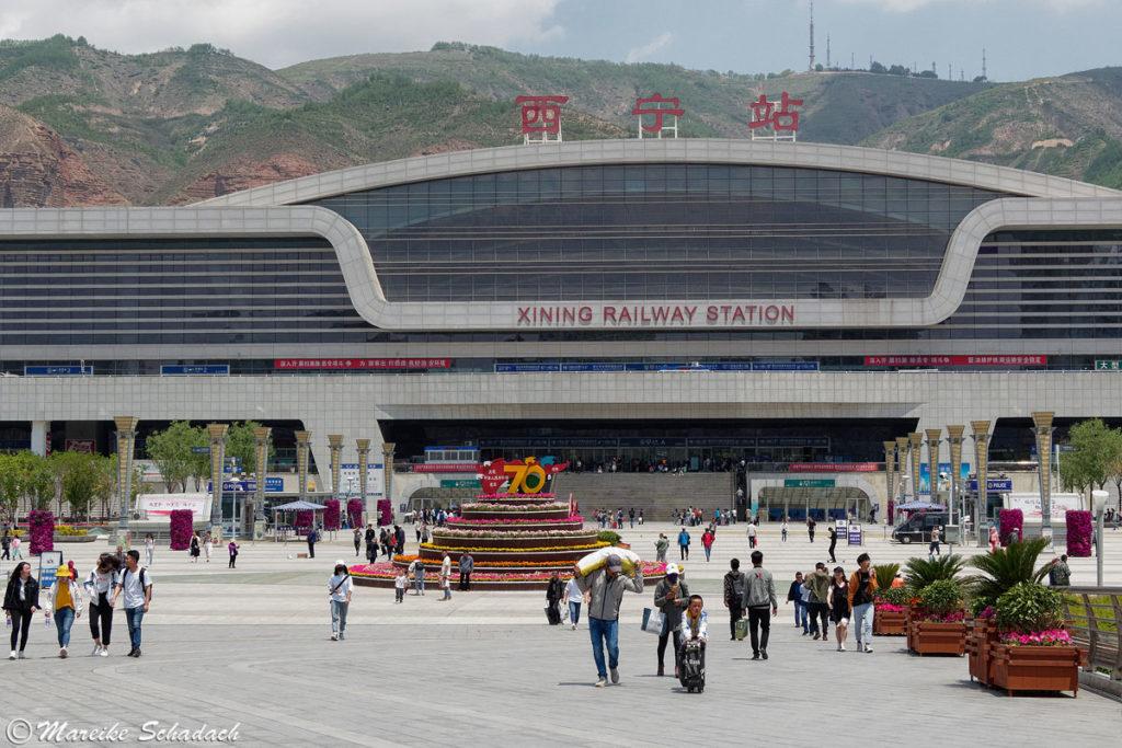 Bahnhof Xining, China