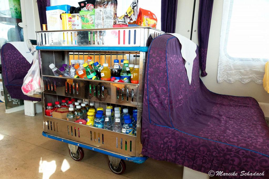 Getränkewagen in der Lhasabahn, Lhasabahn Tipps