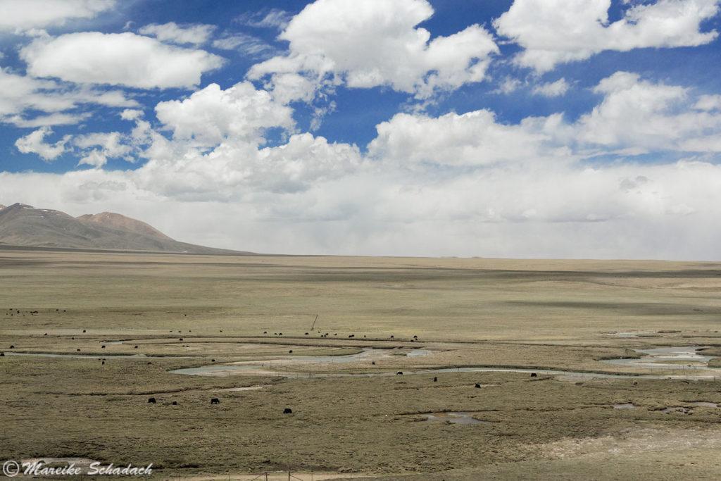 Zugstrecke nach Lhasa