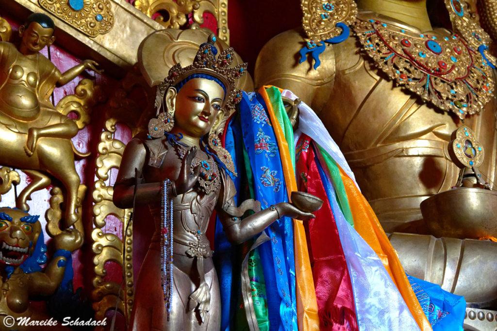 Rongbuk Kloster in Tibet