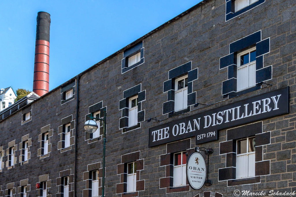 Whisky-Brennerei in Oban